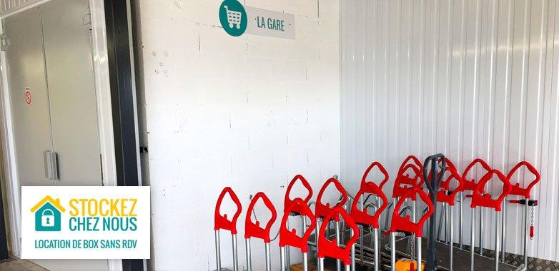 chariot pour faciliter votre stockage de meuble